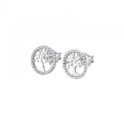Boucles d'Oreilles Argent -...
