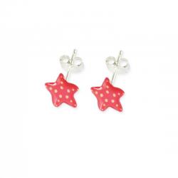 Boucles d'oreilles Étoile -...