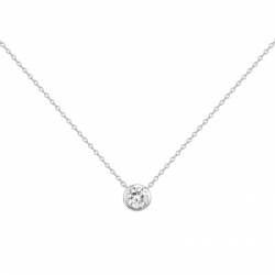 Collier Solitaire Femme - ISA