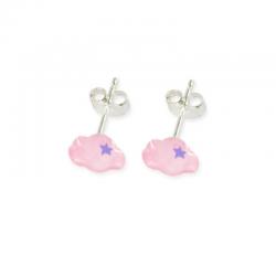 Boucles d'oreilles Nuage -...