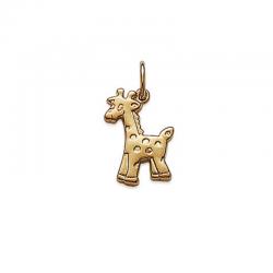 Pendentif Girafe Plaqué Or...