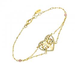 Bracelet Plaqué Or Femme -...