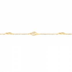 Bracelet Femme Plaqué Or -...