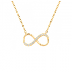 Collier Infini Plaqué Or...