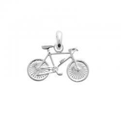 Pendentif Vélo Argent - ISA...