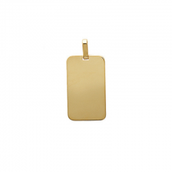 Pendentif Plaque Rectangle...