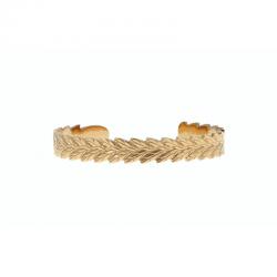Bracelet Jonc Plume Acier...