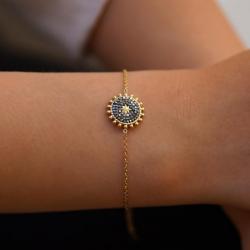 Bracelet Rond Étoile Oxyde...