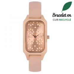 Montre Femme Rectangle Cuir...