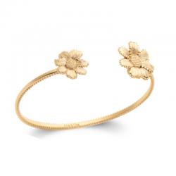 Bracelet Jonc Flora Plaqué...