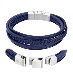 Bracelet Multi Câble Cuir...