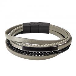 Bracelet Cuir Homme LS2144...